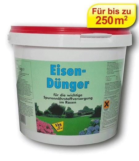 Sonstige Eisendünger für Rasen gegen Moos,5 kg