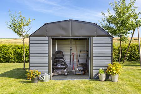 Spacemaker Metallgerätehaus 10x9 Mansard-Dach, 313x 273x 223 cm (BxTxH)