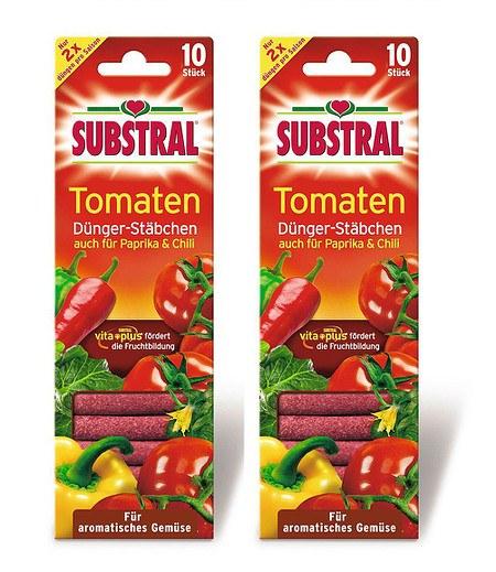 Substral SUBSTRAL® Tomaten Dünger-Stäbchen,2x10 Stück