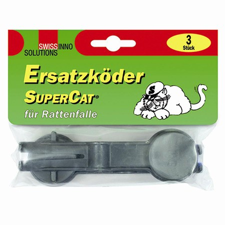 SWISSINNO Ersatzköder Super Cat 3er Pack, für Rattenfalle
