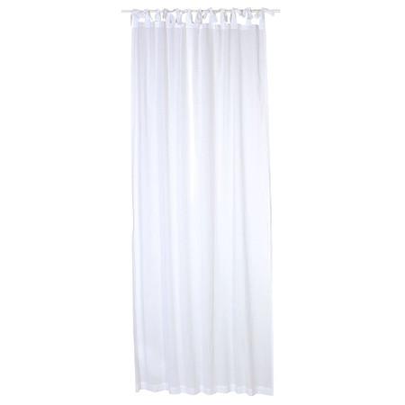 Vorhang-Set, 2-tlg. Weiß