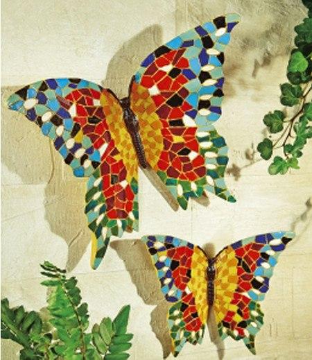 "Wanddeko ""Schmetterlinge"",2er-Set"