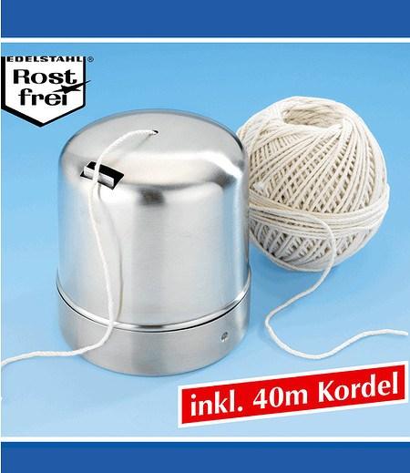 WENKO Kordelbox inkl. 40 m Kordel,1 Pack.