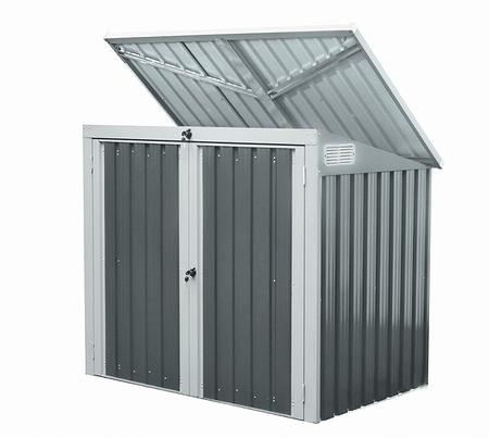 Westmann Mülltonnenbox 2-fach, 158x 101x 134 cm (BxTxH)
