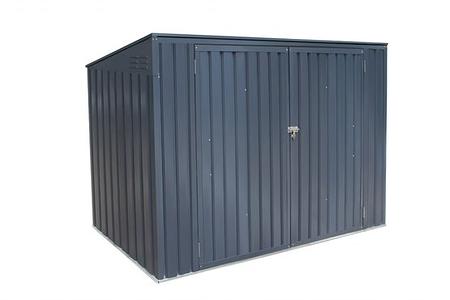 Westmann Mülltonnenbox 3-fach, 235x 100x 131 cm (BxTxH)