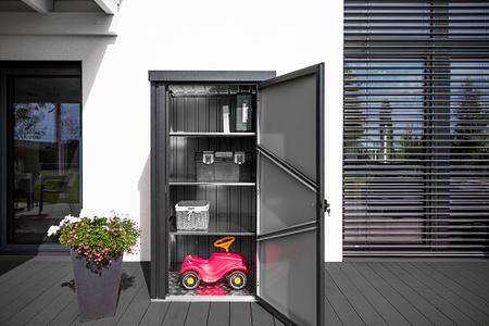 Westmann Premium Geräteschrank Cabinet, 98x 81x 180 cm (BxTxH)