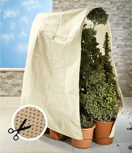 Winterschutz Vlies für Pflanzen 200x500cm,1 Stück
