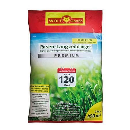 WOLF GARTEN Rasen Langzeitdünger Premium LE450 120 Tage
