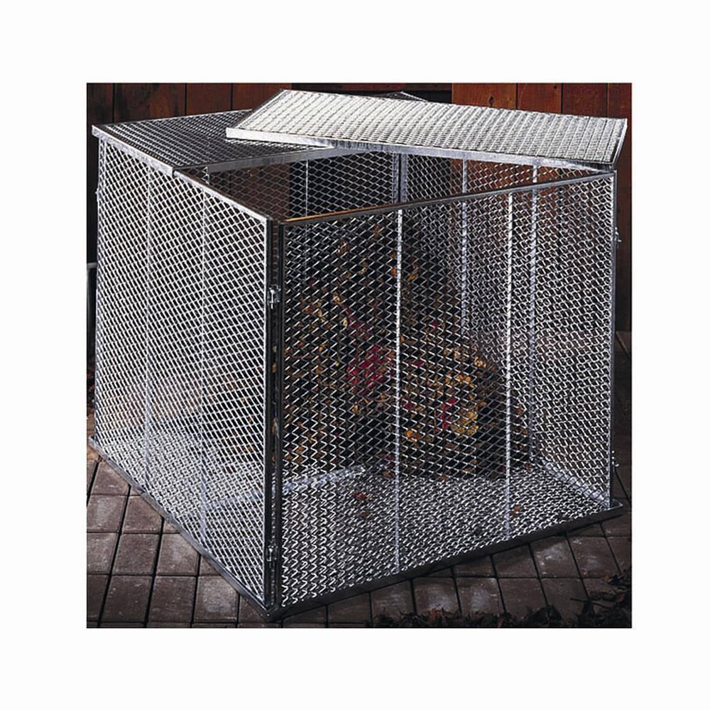 Garten Metall-Komposter Streckmetall  100 X 100 X 80 cm Brista verzinkt