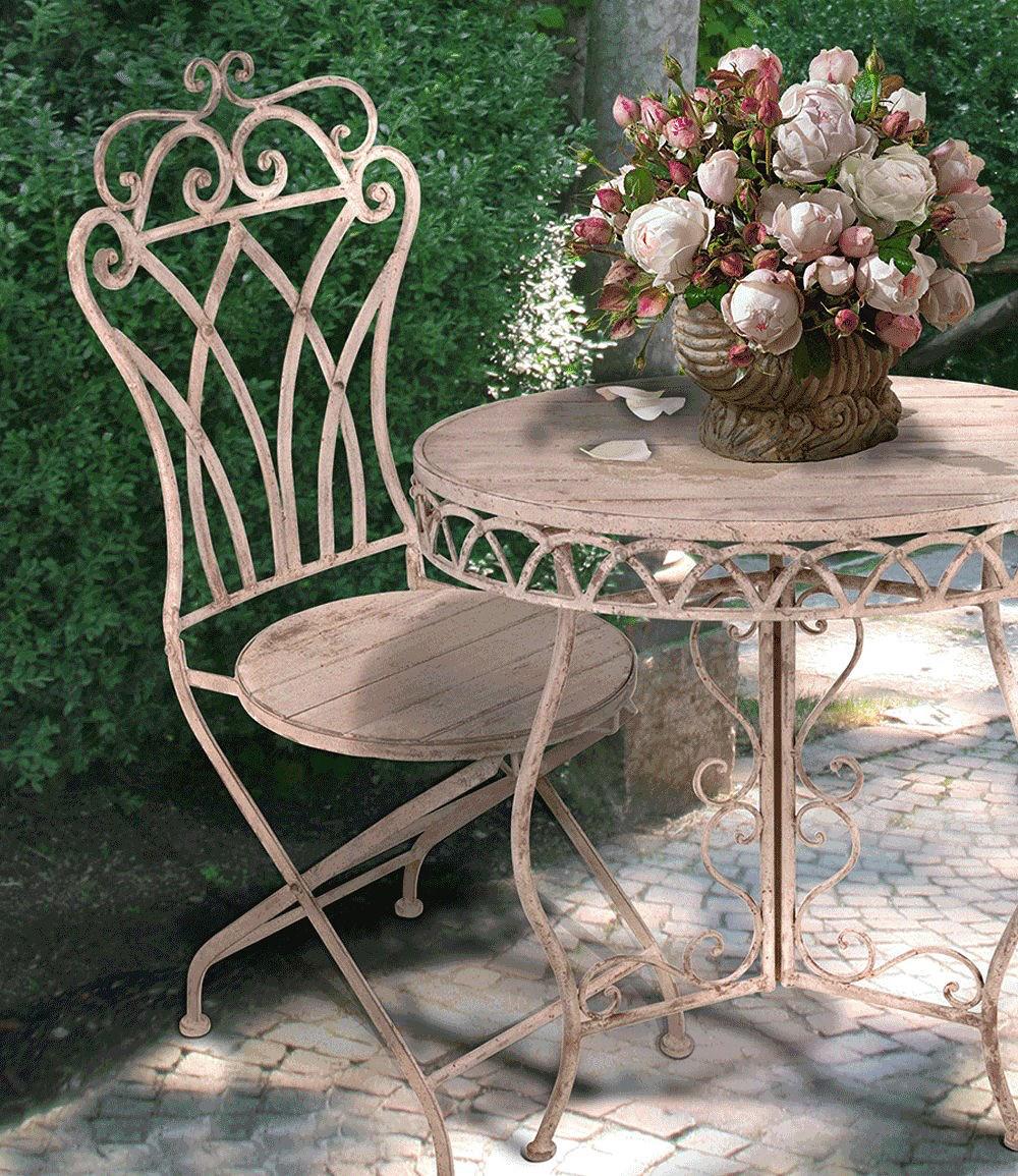 Esschert Design Bistro-Gartenmöbel Stuhl \