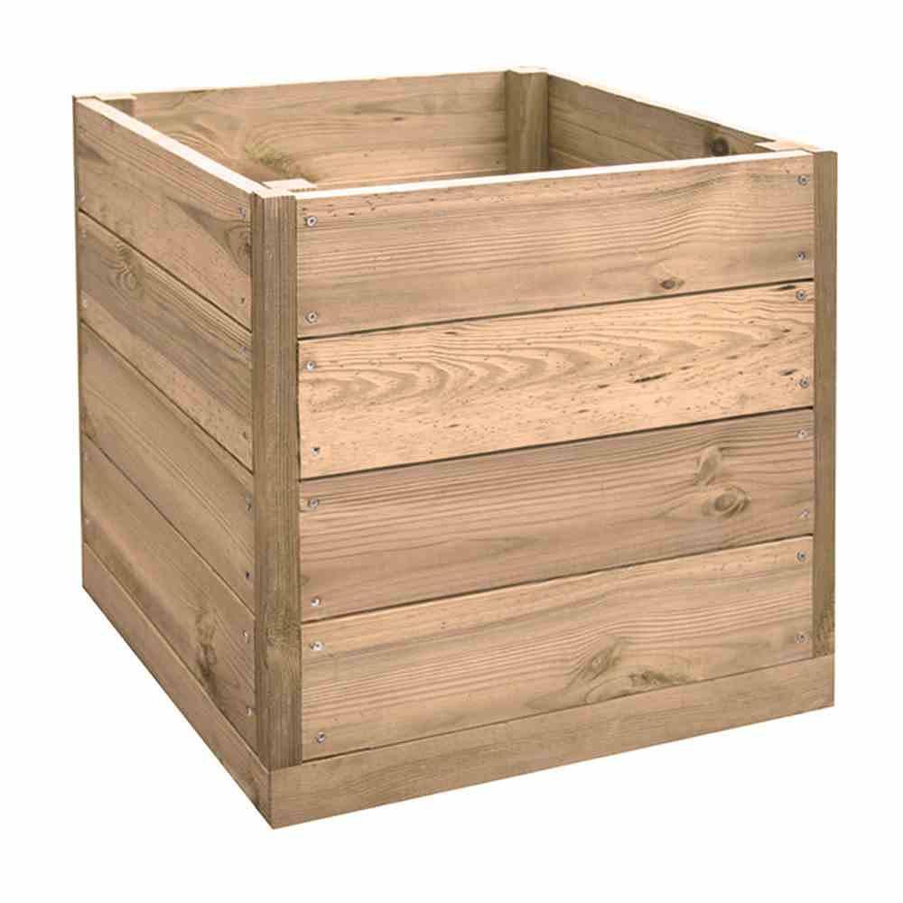 forest style regal pflanzkasten cube quadratisch g nstig. Black Bedroom Furniture Sets. Home Design Ideas