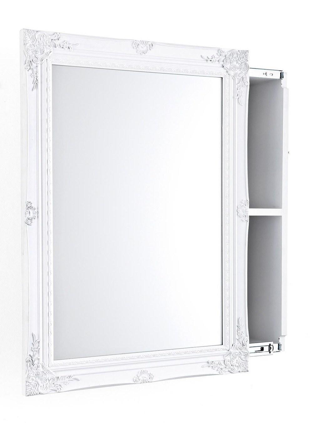 IMPRESSIONEN living Spiegelschrank Weiß