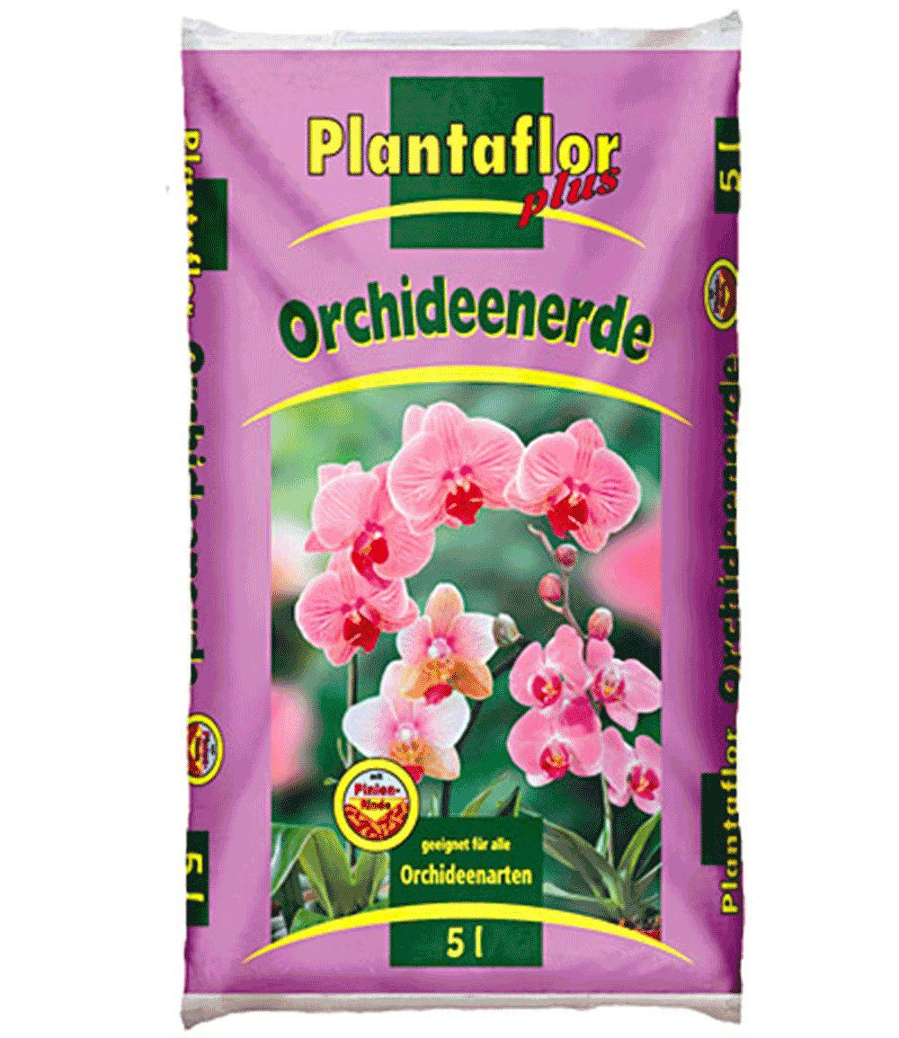 plantaflor plantaflor orchideen erde 5 liter 1 sack. Black Bedroom Furniture Sets. Home Design Ideas