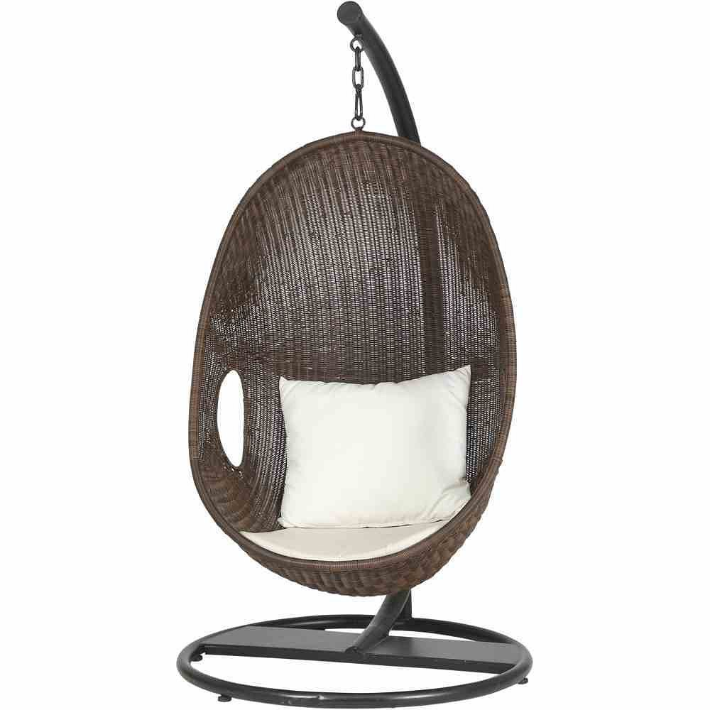 siena garden h ngekorb riverside gestell schwarz. Black Bedroom Furniture Sets. Home Design Ideas