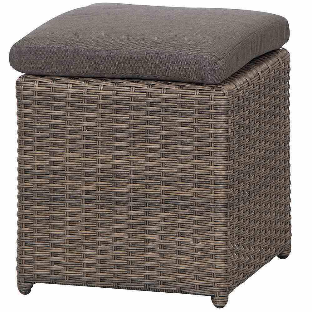siena garden hocker girona bronze 38x38x44 5 cm g nstig online kaufen mein sch ner garten shop. Black Bedroom Furniture Sets. Home Design Ideas