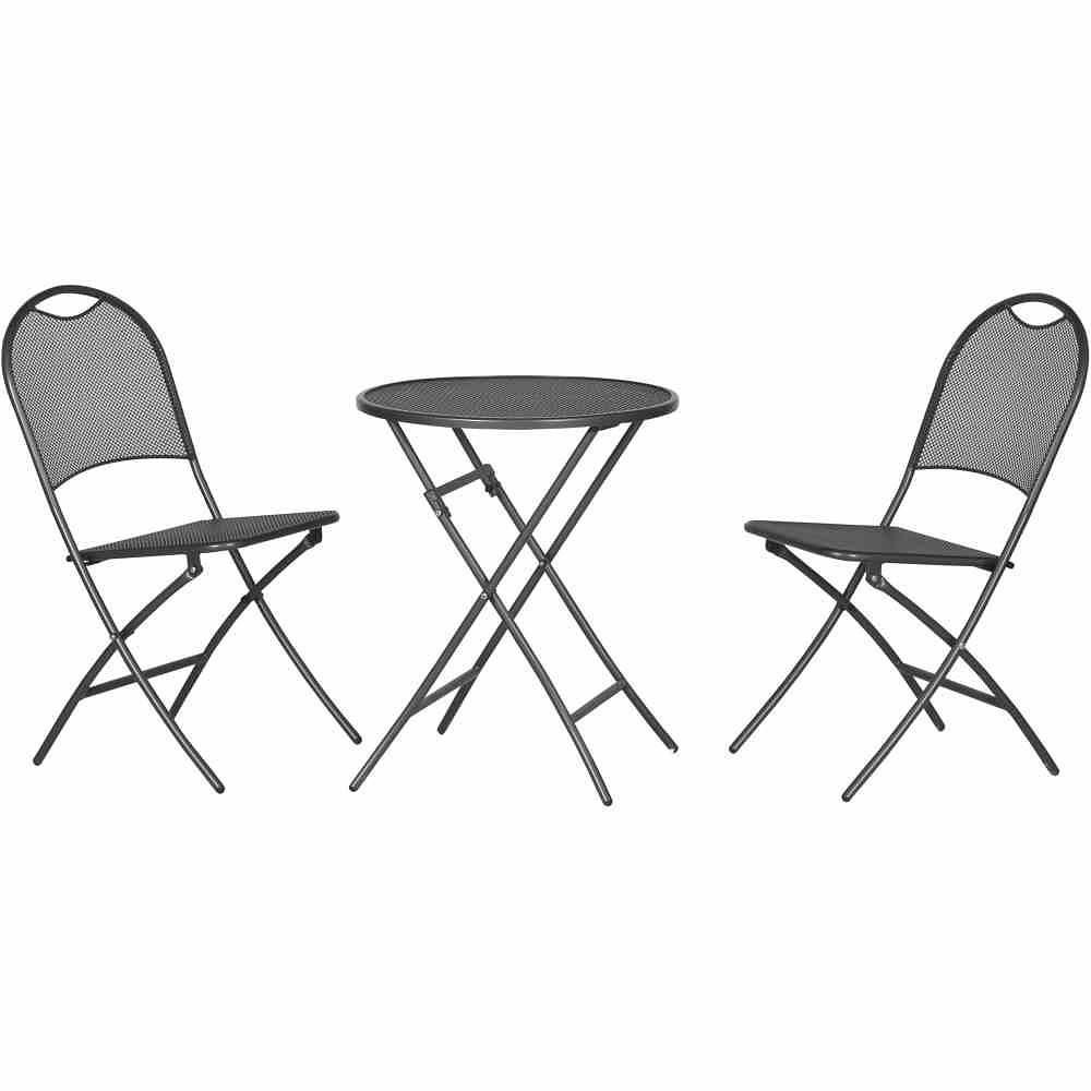 siena garden mocca set eisengrau 2 sessel 1 tisch 60 cm g nstig online kaufen mein. Black Bedroom Furniture Sets. Home Design Ideas