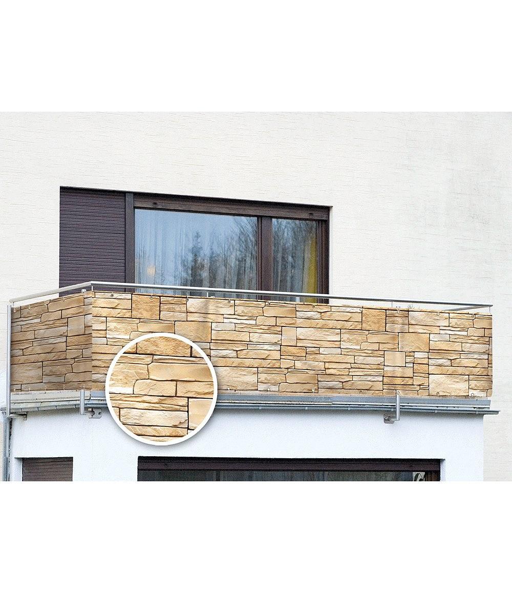 Wenko Balkon Sichtschutz Mauer 5 M Gunstig Online Kaufen Mein