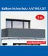 """Balkon-Sichtschutz """"Anthrazit Uni"""",5 Meter (1)"""