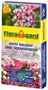 Floragard Aktiv Pflanzenerde für Balkon und Geranien 1 x 70L (1)