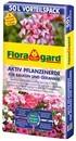 Floragard Aktiv Pflanzenerde Vorteilspack für Balkon u. Geranie 50L (1)