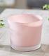 "Glas-Übertopf ø 14 cm ""Soft Pink"",1 Stück (1)"