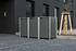 Hide Mülltonnenboxen Mülltonnenbox 140l Alu-Verbund3er Box, 181,4x 63,4x 115,2 cm (BxTxH) (1)