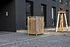 Hide Mülltonnenboxen Mülltonnenbox 140l Holz1er Box, 60,4x 63,4x 115,2 cm (BxTxH) (1)