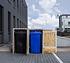 Hide Mülltonnenboxen Mülltonnenbox 140l Holz2er Box, 121x 63,4x 115,2 cm (BxTxH) (1)