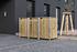Hide Mülltonnenboxen Mülltonnenbox 140l Holz3er Box, 181,4x 63,4x 115,2 cm (BxTxH) (1)