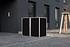 Hide Mülltonnenboxen Mülltonnenbox 240l Alu-Verbund2er Box, 139,4x 80,7x 115,2 cm (BxTxH) (1)