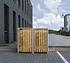 Hide Mülltonnenboxen Mülltonnenbox 240l Holz2er Box, 139,4x 80,7x 115,2 cm (BxTxH) (1)