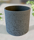 "Keramik-Übertopf ø 17 cm ""schwarz"",1 Stück (1)"