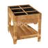 NOOR Hochbeet Nizza 60x80x80cm Frühbeet Tisch Holz (1)