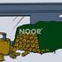 NOOR Holz-Abdeckplane PVC 380 g/m² 1,5 x 6 m (1)