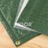NOOR Isolierplane 2x3 m grün 180 g/m² Abdeckplane ISO (1)