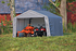 ShelterLogic Gerätehaus Shed-in-a-Box 13,7m², 370x 370x 260 cm (BxTxH) (1)