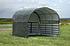 ShelterLogic Weidezelt Überdachung Seitenverkleidung, 370x 370x 170 cm (BxTxH) (1)