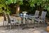 SIENA GARDEN Gartenmöbelset Charleston 5-teilig mit Lehnensessel (1)