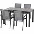 SIENA GARDEN Gartenmöbelset Java 5-teiligDinning Tisch groß (1)