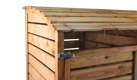 m lltonnenboxen aus holz 3er f r m lltonnen bis 240 liter g nstig online kaufen mein sch ner. Black Bedroom Furniture Sets. Home Design Ideas