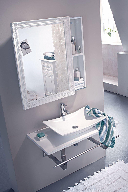 IMPRESSIONEN living Spiegelschrank Weiß günstig online kaufen ...