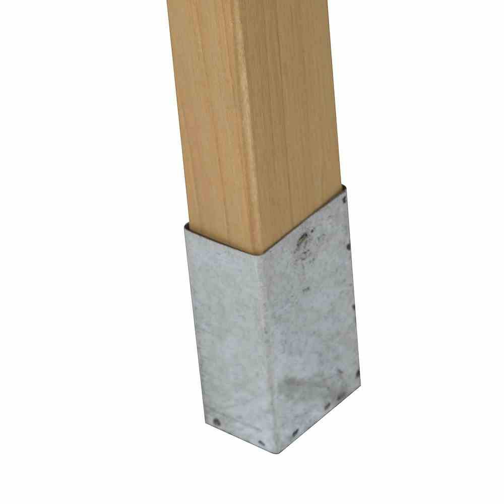 SIENA GARDEN Pflanztisch, Maße: 76x37x89cm Kiefer braun, verzinkte ... | {Arbeitsplatte maße 15}