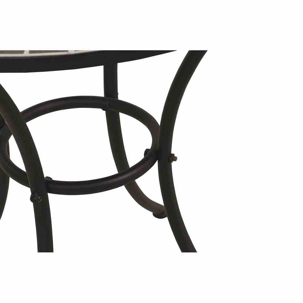 Siena Garden Tisch Stella O 70 Cm Rund Gestell Eisen Mosaik