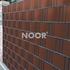 NOOR Sichtschutzstreifen PVC 0,19x2,55m Zaunblende Hart (5)