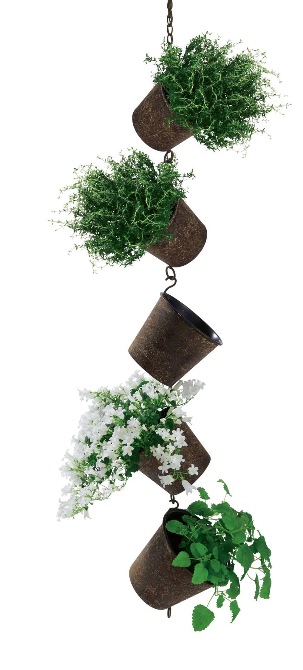 Blumentopfhalter h ngend braun g nstig online kaufen - Makramee wandbehang ...