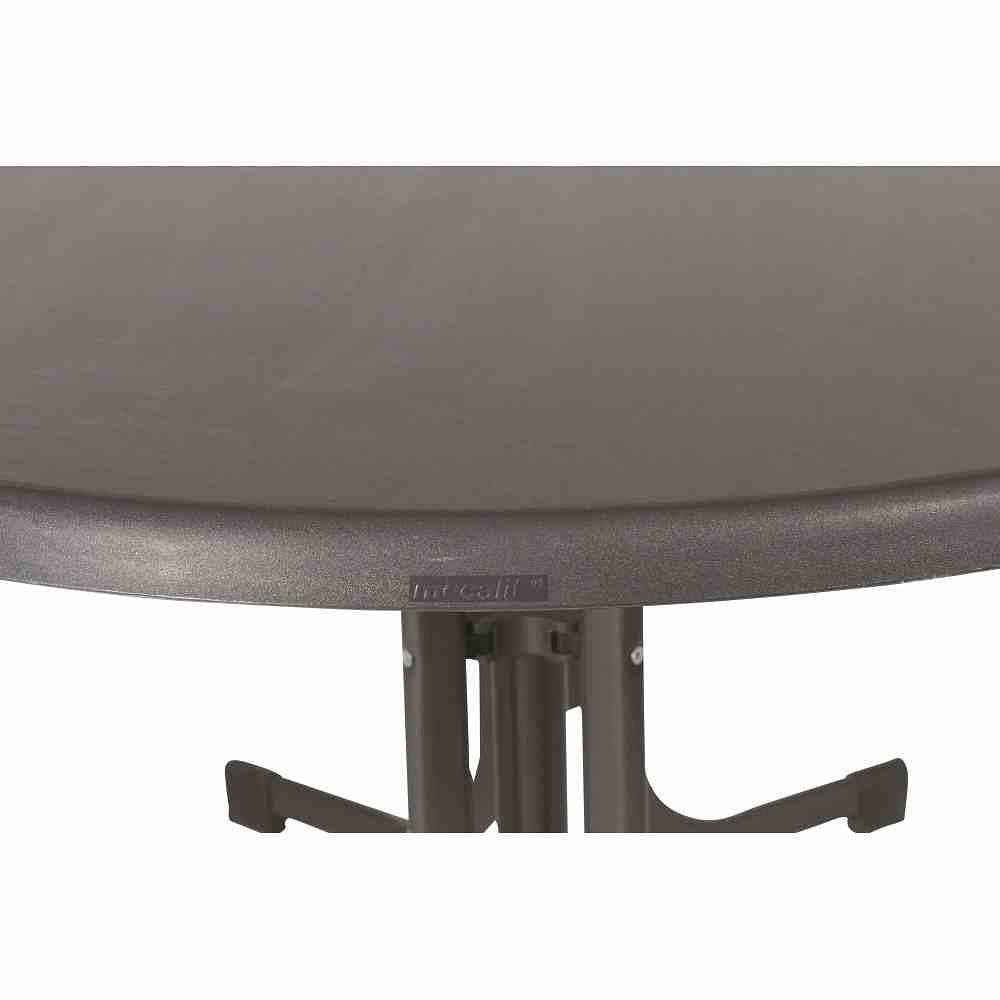 Wunderbar ... SIEGER Gartentisch 140x90x72 Cm, Grau, Stahl Gestell, Mecalit  Tischplatte (2) ...