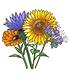Blühende Bienenweide,1 Pflanze (2)