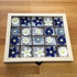 Geschenkset Keramikblumen Winter, 20 Stück (2)