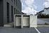 Hide Mülltonnenboxen Mülltonnenbox 140l Alu-Verbund2er Box, 121x 63,4x 115,2 cm (BxTxH) (2)