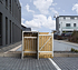 Hide Mülltonnenboxen Mülltonnenbox 140l Holz1er Box, 60,4x 63,4x 115,2 cm (BxTxH) (2)